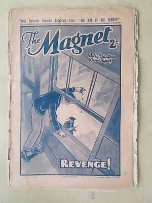 THE MAGNET - BILLY BUNTER'S OWN PAPER - VINTAGE BOYS COMIC - OCTOBER 15th 1938