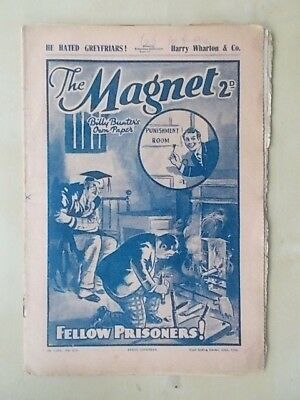 THE MAGNET - BILLY BUNTER'S OWN PAPER - VINTAGE BOYS COMIC - OCTOBER 22nd 1938