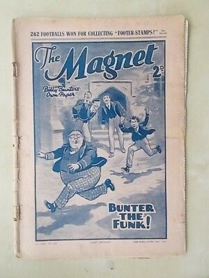THE MAGNET - BILLY BUNTER'S OWN PAPER - VINTAGE BOYS COMIC - OCTOBER 29th 1938