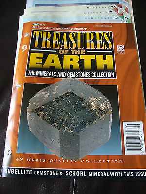 Treasures of the Earth, The Minerals and Gemstones Collection, Issue No. 9