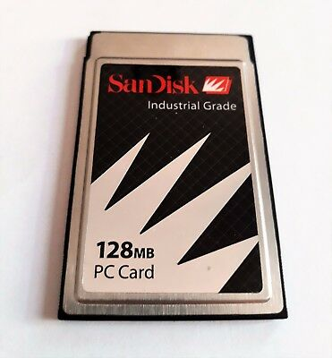 SanDisk Industrial Grade 128MB PC Card ATA