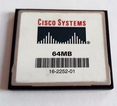 Compact Flash 64MB Cisco 16-2252-01