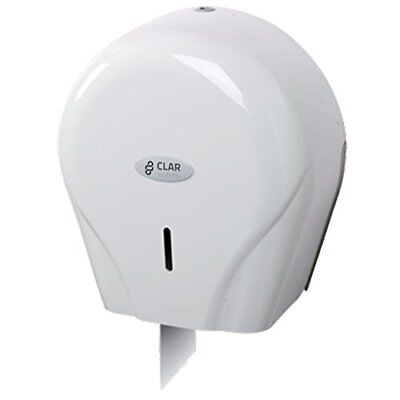 Clar Systems p4500pg Trendy Toilet Paper Dispenser in Roll, 400 m, White
