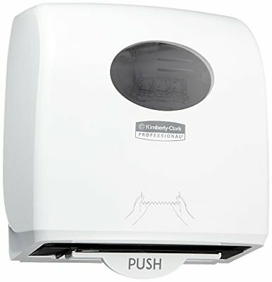 AQUARIUS* SLIMROLL* Rolled Hand Towel Dispenser 7955 - White