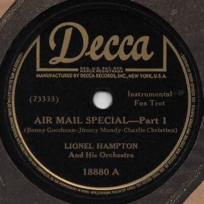 "78er Jazz Lionel Hampton Orchestra ""Air Mail Special"""
