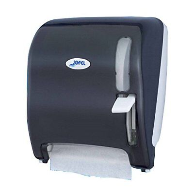 Jofel AG15500 Azur Continuous Paper Towel Dispenser, Lever, Smoky Colour