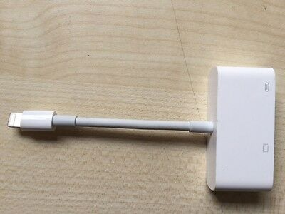 Cable original Apple md825zm/a Lightning /VGA(modele A1439)Iphone/ipad vers VGA