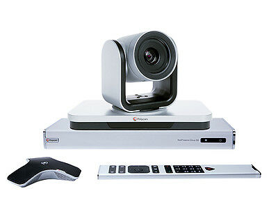 Polycom RealPresence Group 500-720p Video Conferencing System NEW 7200-64250-101