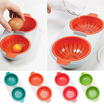 New Egg Poacher Put In Microwave Oven Accessories Cooking Egg Kitchen Tools Fad