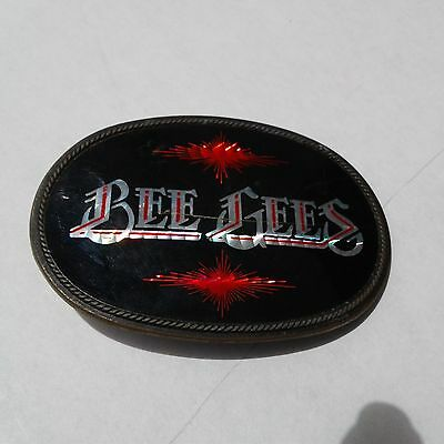 Vintage Bee Gees Rock Band Belt Buckle by Payan Lendo