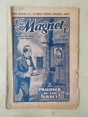 THE MAGNET - BILLY BUNTER'S OWN PAPER - VINTAGE BOYS COMIC - JULY 1st 1939