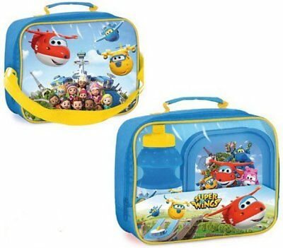 Set Pranzo SUPER WINGS BORSA TERMICA con BORRACCIA e con CIOTOLA