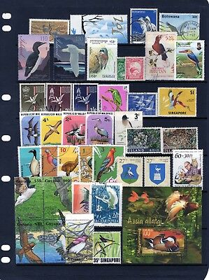 BIRD,collection of Birds issues mixed  MINT NH/Mtd MINT/ Fine Used