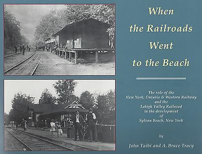 WHEN RAILROADS WENT TO THE BEACH (Sylvan Beach, SYRACUSE, New York) Out of Print