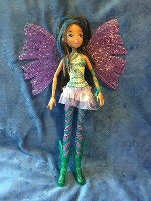 "WINX Club AISHA 11.5"" Deluxe Fashion Doll Sirenix Colour Change Hair RARE"