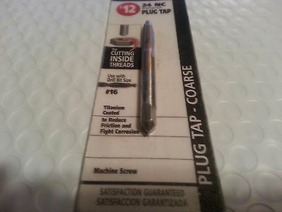 MASTER MECHANIC #12-24 NC Plug Tap-Coarse 788834