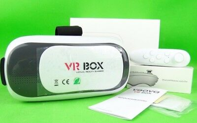 "VR Box VEOVA FHVR-02 Virtual Reality 3D Brille mit Bluetooth-Controller 3,5""- 6"""