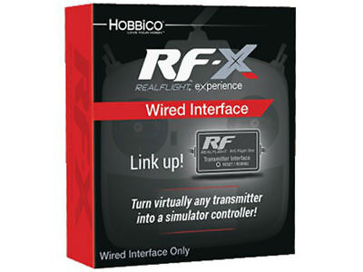 RealFlight RF-X Wired Interface Only No Software