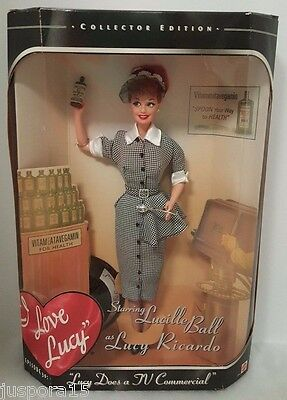 "NIB Mattel 1997 Episode 30 ""Lucy Does a TV Commercial"" Collector Edition Doll"