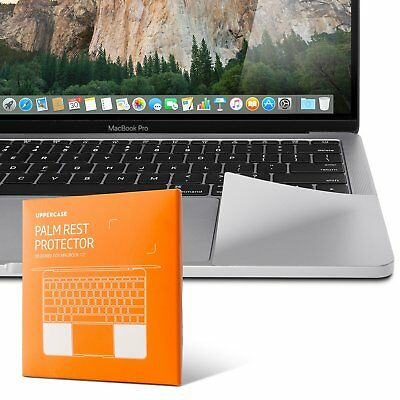 """UPPERCASE Premium Palm Rest Protector for MacBook Pro Space Gray Silver 13"""" 15"""""""