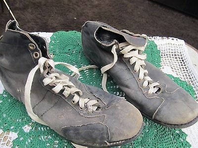 Vintage Pair of MacGregor Leather Football Cleats Size 10 (?)