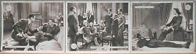 F27230 FAST AND LOOSE ROSALIND RUSSELL MONTGOMERY MGM 3 orig Lobby Card Spain