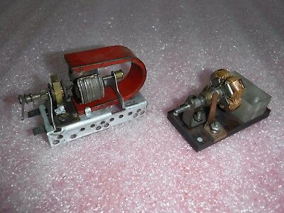 Early meccano electric motor picclick uk for Antique electric motor repair