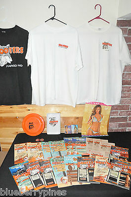 Huge Lot Of Hooters Autographs And Collectibles