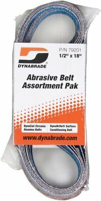 Dynabrade 79201 1/2-Inch by 18-Inch Belt Assortment Pak , Assorted