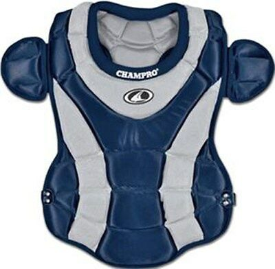 Champro Women's Fast Pitch Chest Protector - 16.5 inches - Navy/Silver - NEW