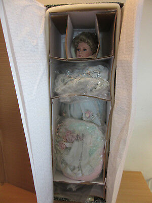 """Thelma Resch """"Lady Judith"""" 35"""" porcelain doll in box Designer Guild collection"""