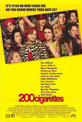 200 Cigarettes (1999) original movie poster double-sided rolled