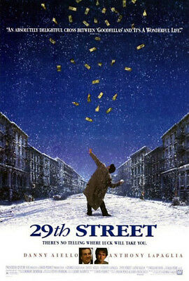 29th Street (1991) original movie poster single-sided rolled