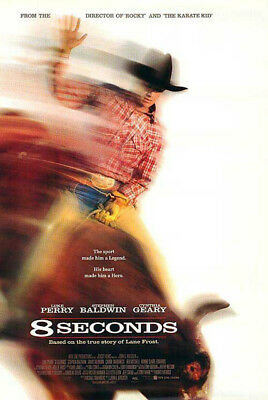 8 Seconds (1994) original movie poster single-sided rolled