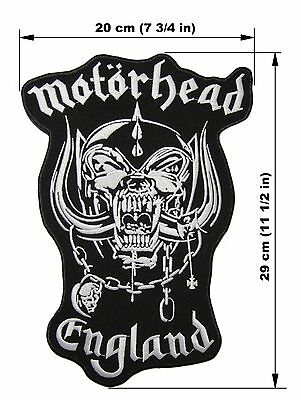 MOTORHEAD England BACK PATCH embroidered NEW