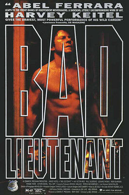 Bad Lieutenant (1992) movie poster reproduction single-sided rolled