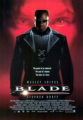 Blade (1998) movie poster reproduction single-sided rolled