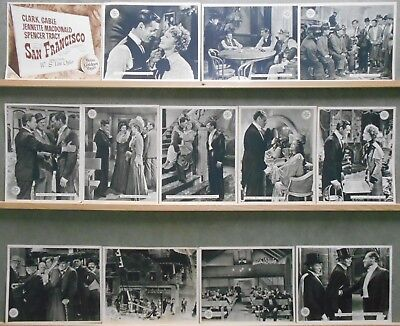 F27296 SAN FRANCISCO CLARK GABLE JEANETTE M DONALD TRACY rare MGM Lobby Set Spa