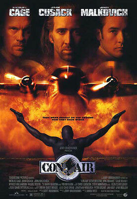 Con Air (1997) movie poster reproduction single-sided rolled