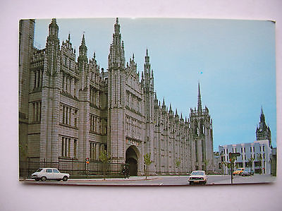 Aberdeen -- Marischal College.     (old cars)