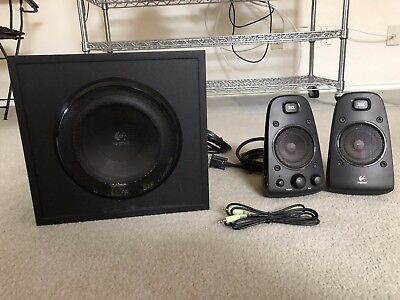 Logitech Z623 Speaker System 200 Watt THX Certified 2.1 Speakers w/ Subwoofer