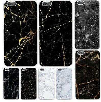 New Marble Pattern for huawei P8 P9 Lite hard Transparent phone case