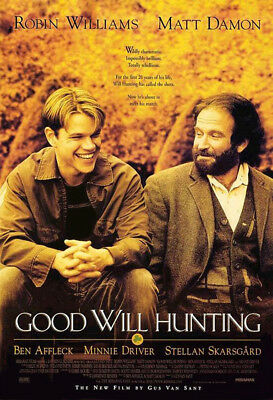 Good Will Hunting (1997) movie poster reproduction single-sided rolled