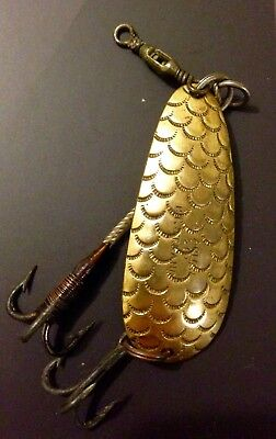 antique vintage fishing spinner lure C.Farlow