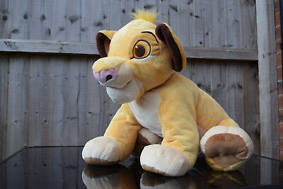 The Lion King Very Large Simba Plush Toy Original Disney Store