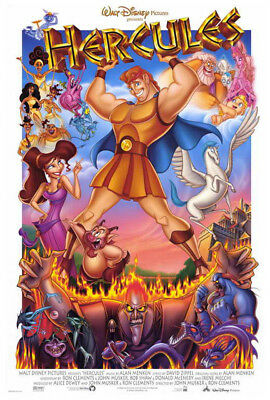 Hercules (1997) movie poster reproduction single-sided rolled