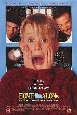 Home Alone (1990) original movie poster double-sided rolled