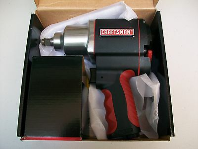 """NEW Craftsman 1/2"""" Drive Pneumatic Impact Wrench/Air Driver Tool"""