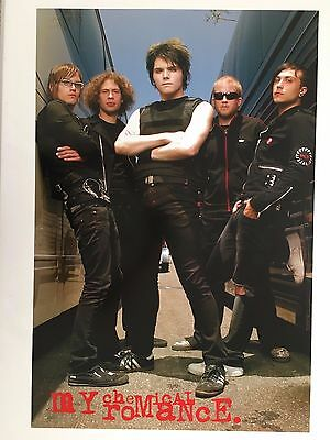 My Chemical Romance,music Band,photo By Kevin Estrada, Licensed 2006 Poster
