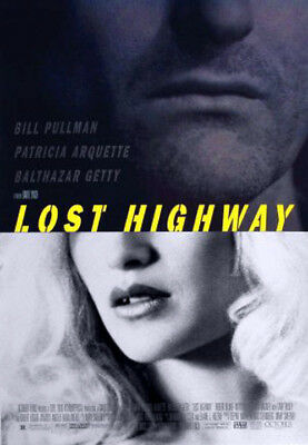 Lost Highway (1997) original movie poster single-sided rolled